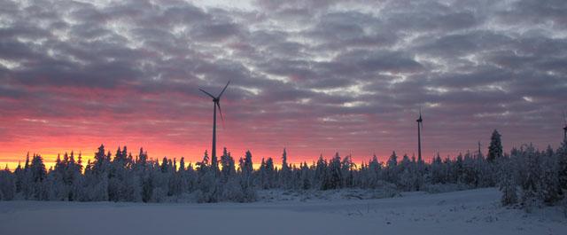 Nu börjar vindkraftens bästa säsong